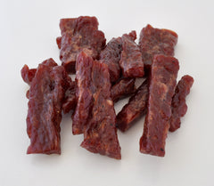 Garlic - Smoked Beef Strips- 3 ounces