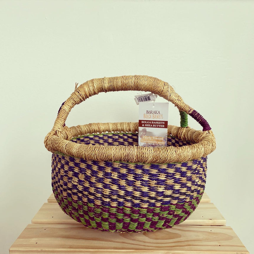 Baby Basket: Plum