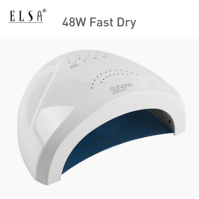 54W SUNX UV nail dryer lamp 48W SUNone Sun5 led nail lamp cure nail uv gel fast dry no Heat Auto Sensing Lamp For Manicure Nail Dyer Lamp SMART TECH & ACCS China 48W sunone