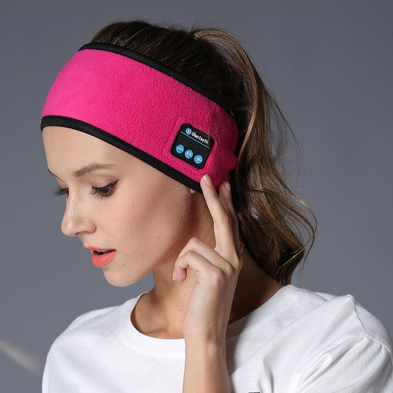 Bluetooth Music Headband Knits Sleeping Headwear Headphone Speaker Headset Detachable sports headset headband Dropshipping Wireless Bluetooth HeadBand SMART TECH & ACCS