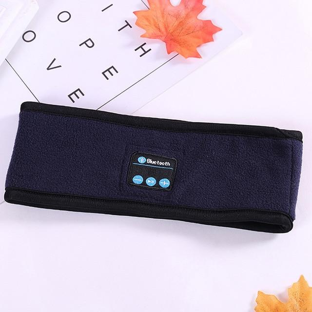 Bluetooth Music Headband Knits Sleeping Headwear Headphone Speaker Headset Detachable sports headset headband Dropshipping Wireless Bluetooth HeadBand SMART TECH & ACCS Blue
