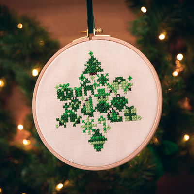 Christmas Star Green