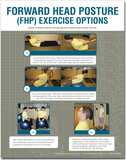 Forward Head Posture (FHP) Exercise Options Poster