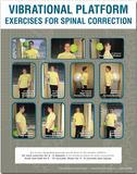 Vibrational Platform Exercise for Spinal Correction - Poster