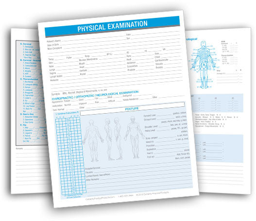 Certainty Chiropractic Consulting  Physical Examination Form