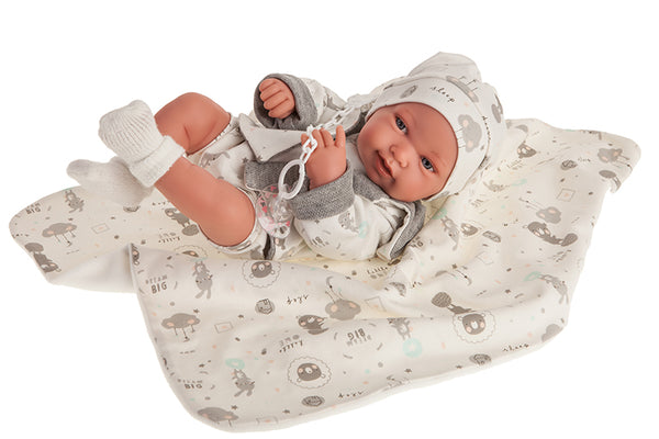 Antonio Juan Baby Girl Doll (42cm)
