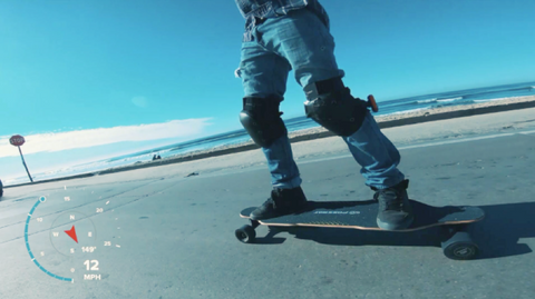 ride electric skateboard safely