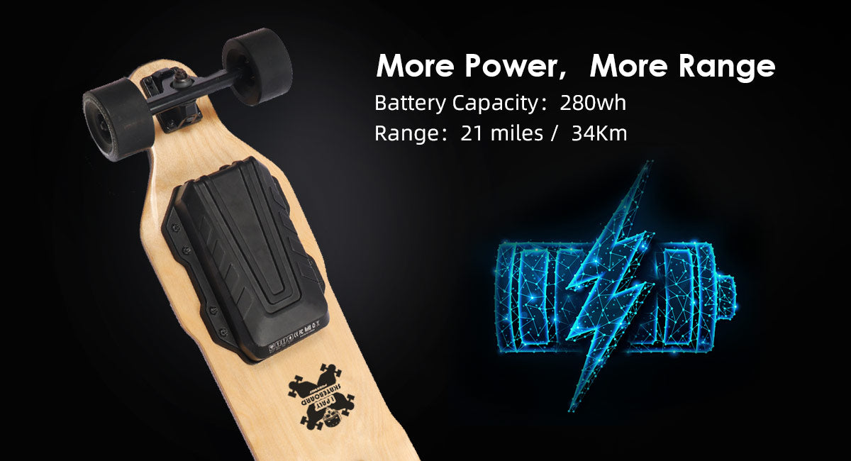 Smart Battery electric skateboard