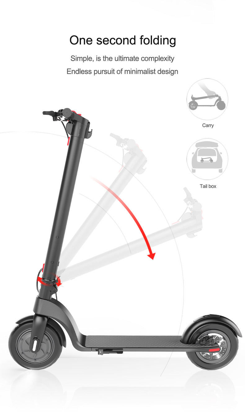 possway electirc scooter X7 10 inches