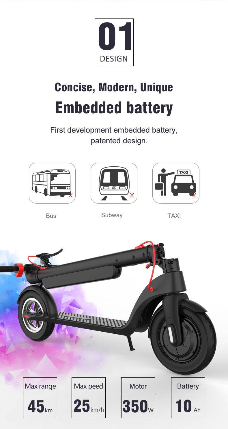 Possway electric scooter X8