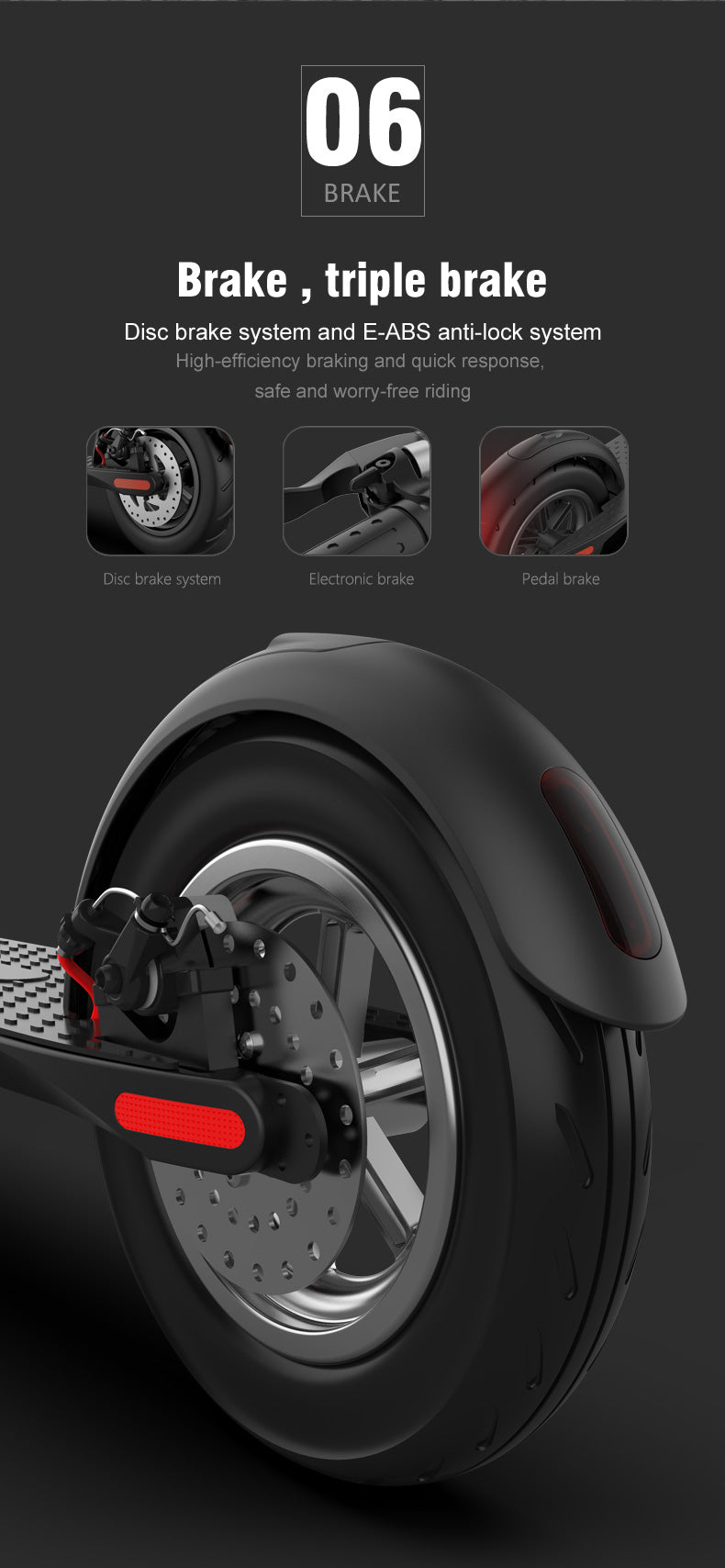 Possway elelctric scooter X8