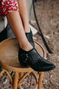 Dawn till Dusk Leather Ankle Boot