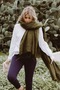 Hobo and Hatch Scarf - Olive
