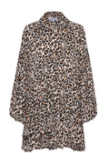 Winter Genoa Dress – Animal Print