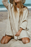 Original Oversized Top - Natural Linen