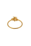 Pollination Bee Ring - 18K Gold