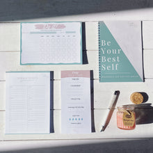 Load image into Gallery viewer, Self Care Stationary Set