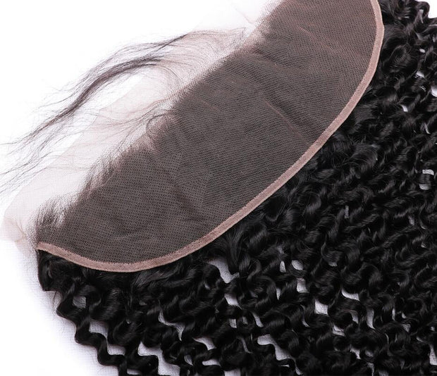 KINKY CURLY SILK FRONTAL