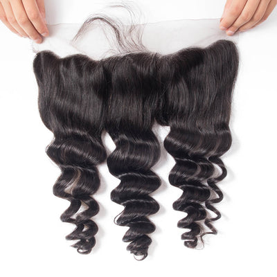 LOOSE WAVE SILK FRONTAL
