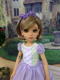Alpine Spring - dress for 45cm BJD