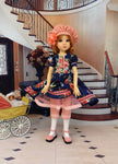 Evening Beauty - dress for 45cm BJD