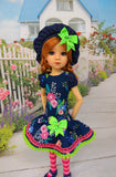 Whimsical Wildflowers - dress for 45cm BJD