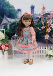 Academy Rose - dress & apron for Ruby Red Fashion Friends doll