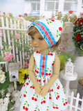 American Cherry - dress with shoes for Ruby Red Fashion Friends doll