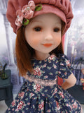 Autumn Serenade - dress & capelet for Ruby Red Fashion Friends doll