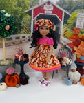 Autumn Squirrel - dress for Ruby Red Fashion Friends doll