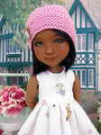 Bambi & Thumper - dress and sweater with shoes for Ruby Red Fashion Friends doll