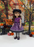 Bitty Bat - dress & sweater for Ruby Red Fashion Friends doll
