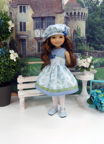 Blue Skies - dress for Ruby Red Fashion Friends doll