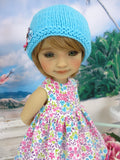 Bright Spring - dress and sweater with shoes for Ruby Red Fashion Friends doll