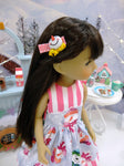Build A Snowman - dress with shoes for Ruby Red Fashion Friends doll