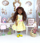 Bunny Crossing - dress with shoes for Ruby Red Fashion Friends doll