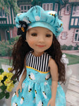 Busy Bee - dress for Ruby Red Fashion Friends doll