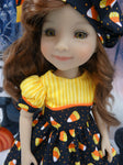 Candy Corn Cutie - dress for Ruby Red Fashion Friends doll