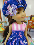 Celestial Unicorn - dress for Ruby Red Fashion Friends doll