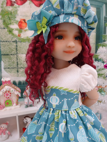 Christmas Baubles - dress for Ruby Red Fashion Friends doll