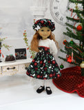 Christmas Dove - dress ensemble for Ruby Red Fashion Friends doll