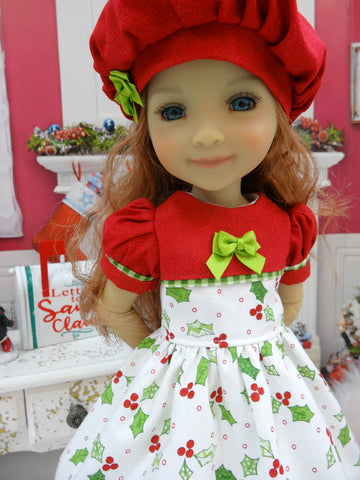 Country Holly - dress for Ruby Red Fashion Friends doll
