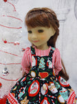 Cup of Cheer - dress & apron for Ruby Red Fashion Friends doll