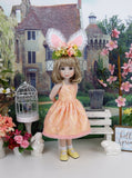 Easter Chic - dress ensemble with shoes for Ruby Red Fashion Friends doll