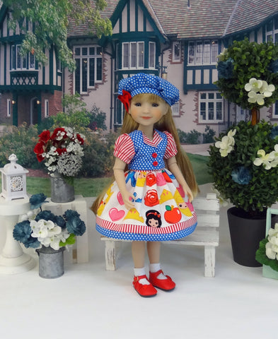Emoji Princess - dress & jacket for Ruby Red Fashion Friends doll