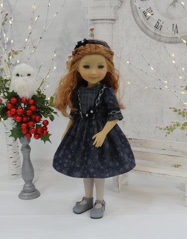 Evening Snowflakes - dress for Ruby Red Fashion Friends doll