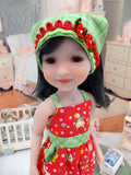 Farmhouse Friends - romper for Ruby Red Fashion Friends doll