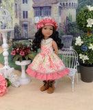 Floral Countryside - dress & jacket for Ruby Red Fashion Friends doll