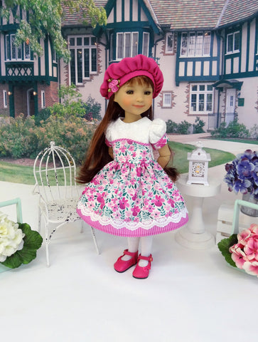 Flowered Meadow - dress for Ruby Red Fashion Friends doll