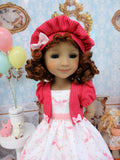 Flying Unicorn - dress & jacket for Ruby Red Fashion Friends doll